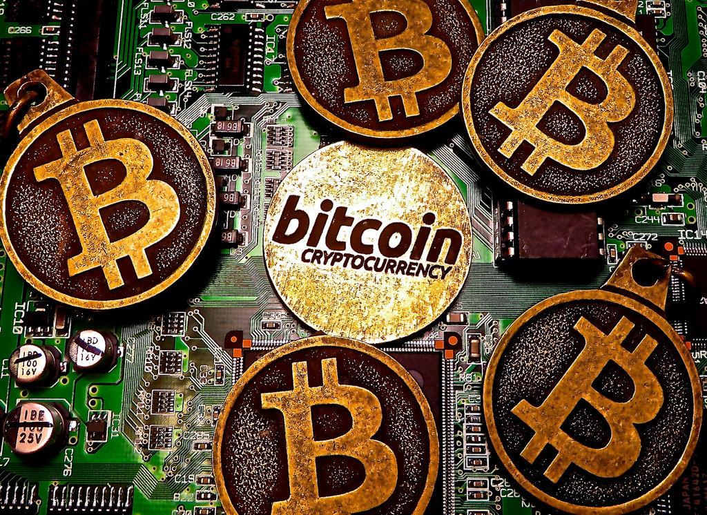 Billede af bitcoin og bitcoins