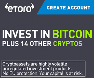 Investering i kryptovaluta via Etoro